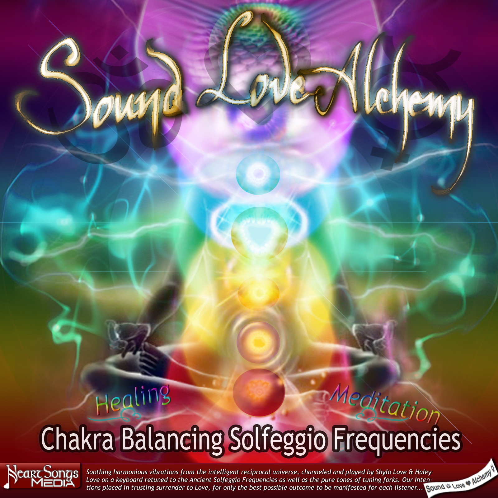 Chakra Balancing Solfeggio Frequencies - Healing & Meditation